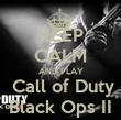 KEEP CALM AND PLAY  Call of Duty Black Ops II - Personalised Tea Towel: Premium