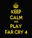 KEEP CALM AND PLAY FAR CRY 4 - Personalised Tea Towel: Premium