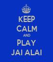 KEEP CALM AND PLAY JAI ALAI - Personalised Tea Towel: Premium