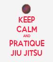 KEEP CALM AND PRATIQUE JIU JITSU - Personalised Tea Towel: Premium