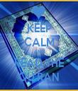 KEEP CALM AND READ THE QU'RAN - Personalised Tea Towel: Premium