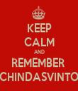 KEEP CALM AND REMEMBER  CHINDASVINTO - Personalised Tea Towel: Premium