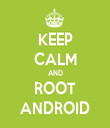 KEEP CALM AND ROOT ANDROID - Personalised Tea Towel: Premium