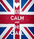 KEEP CALM AND SHIP CIALL - Personalised Tea Towel: Premium