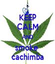 KEEP CALM AND smoke  cachimba - Personalised Tea Towel: Premium