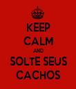 KEEP CALM AND SOLTE SEUS CACHOS - Personalised Tea Towel: Premium