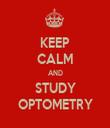 KEEP CALM AND STUDY OPTOMETRY - Personalised Tea Towel: Premium