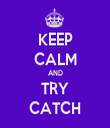 KEEP CALM AND TRY CATCH - Personalised Tea Towel: Premium