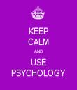 KEEP CALM AND USE PSYCHOLOGY - Personalised Tea Towel: Premium