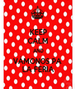 KEEP CALM AND VÁMONOS PA  LA FERIA - Personalised Tea Towel: Premium