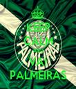 KEEP CALM AND VAI PALMEIRAS - Personalised Tea Towel: Premium