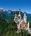 KEEP CALM AND VISIT GERMANY - Personalised Tea Towel: Premium