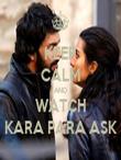 KEEP CALM AND WATCH KARA PARA ASK - Personalised Tea Towel: Premium