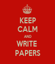 KEEP CALM AND WRITE  PAPERS - Personalised Tea Towel: Premium
