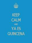 KEEP CALM AND YA ES QUINCENA - Personalised Tea Towel: Premium