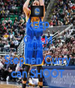 KEEP CALM BECAUSE Stephen Curry can SHOOT - Personalised Tea Towel: Premium