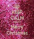KEEP CALM Have a Merry Christmas - Personalised Tea Towel: Premium