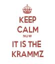 KEEP CALM NOW IT IS THE  KRAMMZ - Personalised Tea Towel: Premium