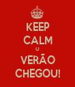 KEEP CALM O VERÃO CHEGOU! - Personalised Tea Towel: Premium