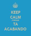 KEEP CALM PORQUE TA ACABANDO - Personalised Tea Towel: Premium