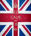 KEEP CALM Saif Is the Best - Personalised Tea Towel: Premium