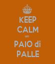 KEEP CALM un  PAIO di PALLE - Personalised Tea Towel: Premium