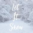 Let It Snow - Personalised Tea Towel: Premium