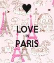 LOVE IN PARIS  - Personalised Tea Towel: Premium