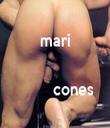 mari               cones  - Personalised Tea Towel: Premium
