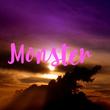 Monster  - Personalised Tea Towel: Premium