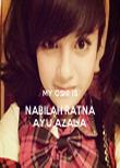 MY OSHI IS NABILAH RATNA AYU AZALIA - Personalised Tea Towel: Premium
