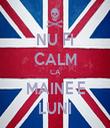 NU FI CALM CA MAINE E LUNI - Personalised Tea Towel: Premium