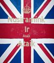 Nusiramink  Ir Ataik  Ataik   - Personalised Tea Towel: Premium