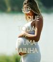 PORQUE TODA MÃE É UMA RAINHA - Personalised Tea Towel: Premium