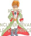 RESTER  CALME ET S'INCLINER DEVANT LE PETIT PRINCE - Personalised Tea Towel: Premium
