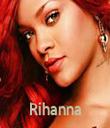 Rihanna - Personalised Tea Towel: Premium