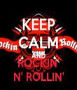 ROCKIN' N' ROLLIN' - Personalised Tea Towel: Premium