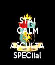 STAI CALM SI ASCULTA SPECIIal - Personalised Tea Towel: Premium