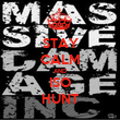 STAY CALM AND ISO HUNT - Personalised Tea Towel: Premium