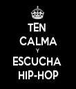TEN  CALMA Y  ESCUCHA  HIP-HOP - Personalised Tea Towel: Premium