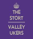 THE STORT ============== VALLEY UKERS - Personalised Tea Towel: Premium