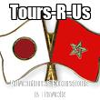Tours-R-Us Adventures Excursions & Travels - Personalised Tea Towel: Premium