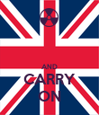 AND CARRY ON - Personalised Poster large