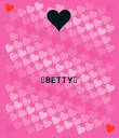 ☆BETTY☆   - Personalised Poster large