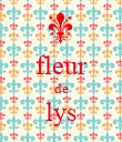 fleur de lys  - Personalised Large Wall Decal