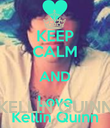 KELLIN QUINN - Personalised Poster large