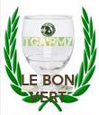 LE BON  VERT  - Personalised Poster large