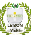 LE BON  VERT - Personalised Poster large