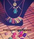 trapos,pérolas&gatos - Personalised Poster large