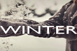 WINTER   - Personalised Poster large